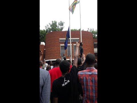 UZ Students declare  Gen Chiwenga Vice Chancellor- Treasure Basopo