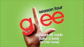 Against All Odds Take A Look At Me Now Glee Cast HD FULL STUDIO