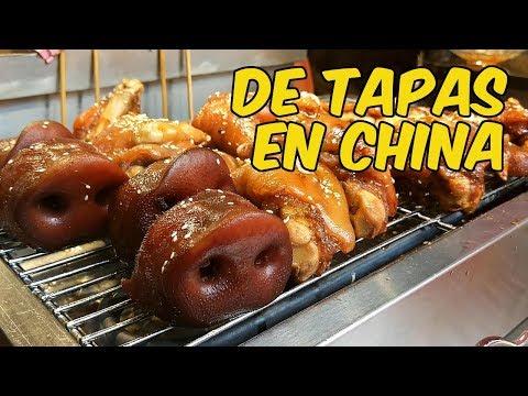 China y sus callejuelas gastronómicas: Chengdu