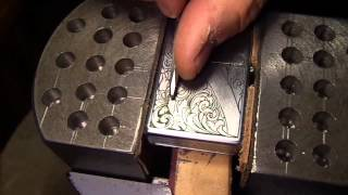 Hand engraving with my