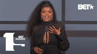 """Taraji P. Henson Praises Tyler Perry As A """"True Definition of Determination in Human Form"""""""