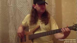 Уроки игры на бас-гитаре. Bass Grooves видео урок