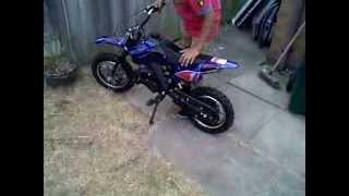 Cobra 50cc Dirt Bike check / starting / how it comes