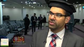 WJZ13: Ahmadiyya Muslim Community Fights To 'Unite Against Hate' In Baltimore County