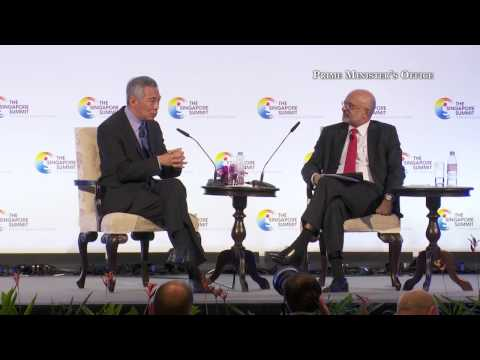 21. On technology replacing jobs (The Singapore Summit 2015)