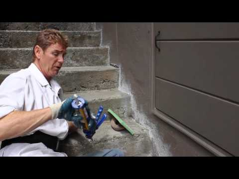 Quikrete cement caulking and other Quikrete stucco products