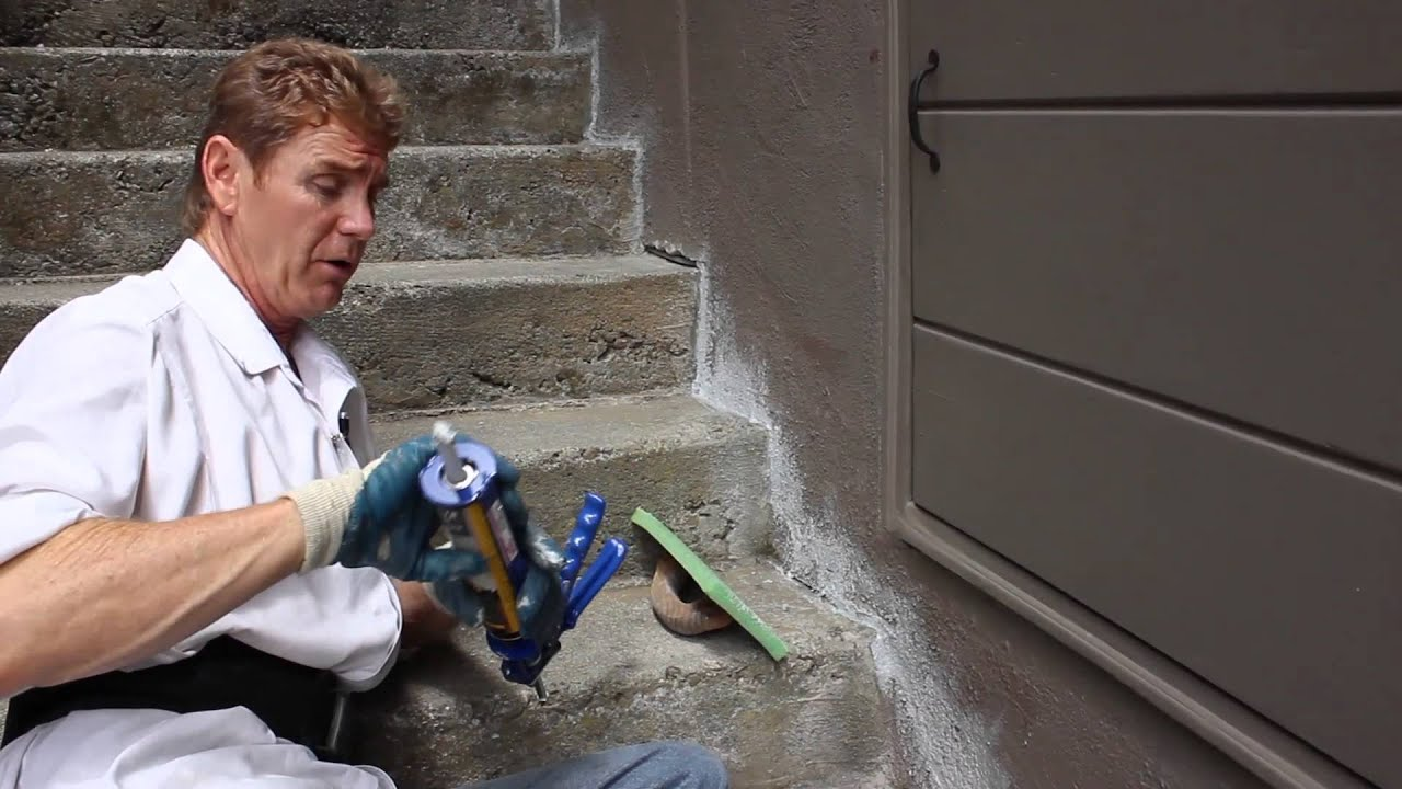 Quikrete Cement Caulking And Other Quikrete Products Youtube