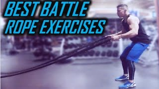10 BEST BATTLE ROPE EXERCISES: HOW TO USE BATTLE ROPES FOR MMA, MILITARY, COMBAT ATHLETES
