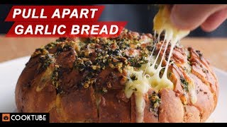 Have You Tried This Pull Apart Garlic Bread With Cheese Yet?