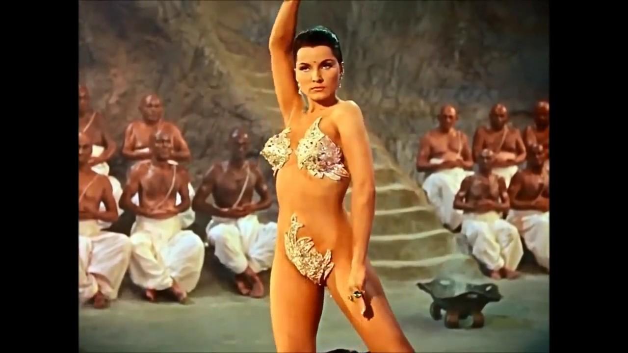 The Indian Tomb | Debra Paget |Snake Dance Scene | HD belly dance