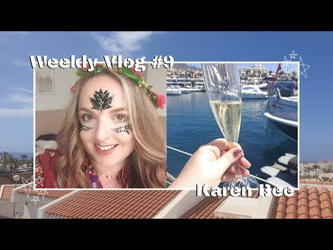 Weekly Vlog #9   Travel To Tenerife, Working From Home & Chats   Karen Bee