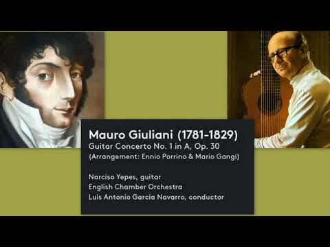 Mauro Giuliani: Guitar Concerto No. 1, in A major, Op. 30