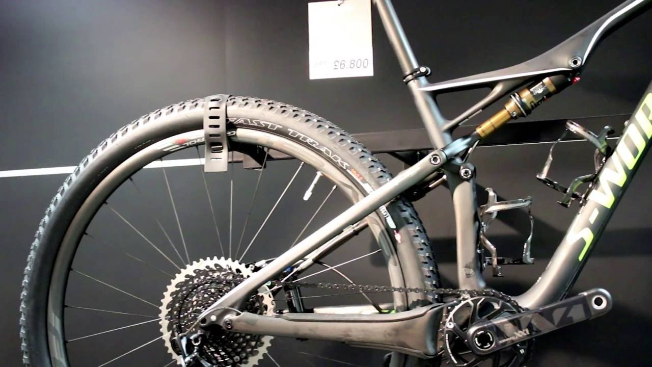 cf6fc5c11a3 Specialized S-Works Epic FSR Mountain Bike 2017 - YouTube