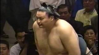 貴乃花 vs 魁皇(2002年秋場所)