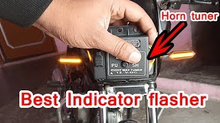 hazard flasher for motorcycle Horn tuner !!