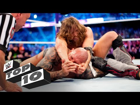 WrestleMania tap-outs: WWE Top 10, March 25, 2020