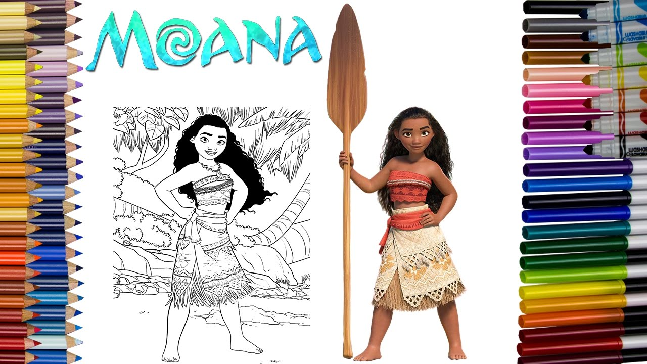 disney u0027s moana coloring page fun coloring activity for kids