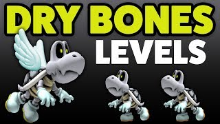 Super Mario Maker - DRY BONES! - Enemy Creation Challenge [#16]