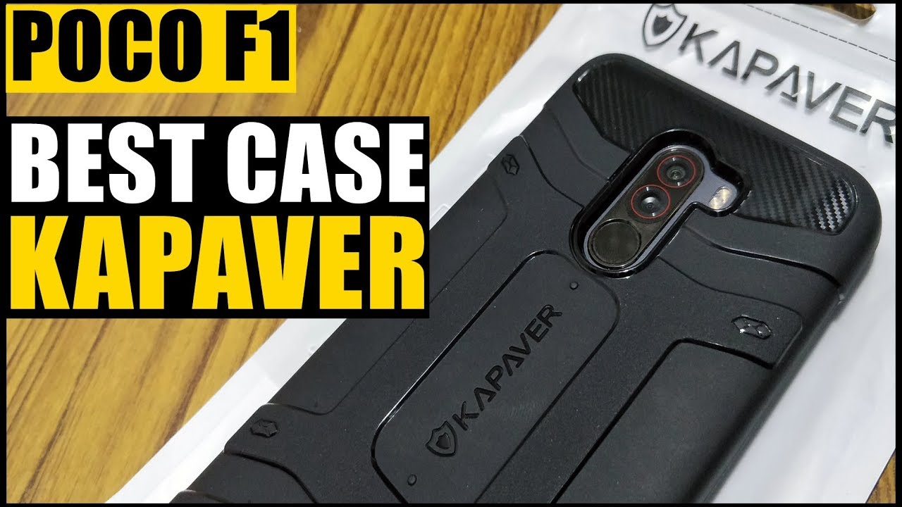 best service 2ec50 7a095 Poco F1 KAPAVER Mobile Back Cover Case | Full Review