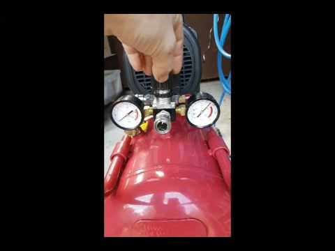 50L Air compressor from ALDI: let's try it!