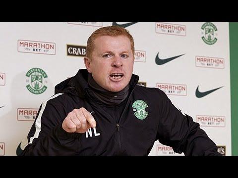 Neil Lennon loses his temper in press conference