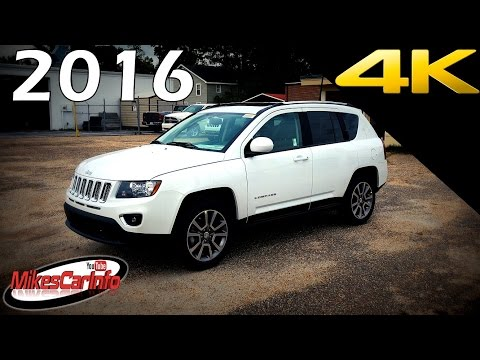 2016 Jeep Compass High Altitude - Ultimate In-Depth Look in 4K