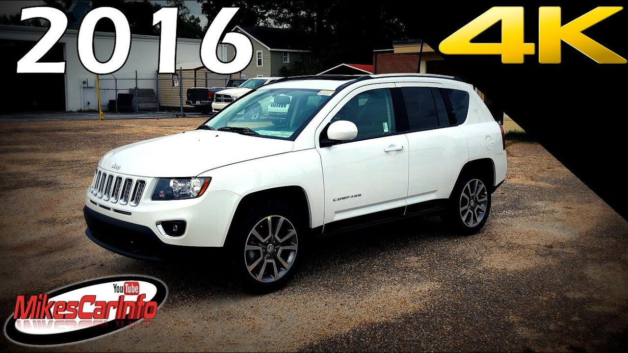 2016 jeep compass high altitude ultimate in depth look in 4k youtube. Black Bedroom Furniture Sets. Home Design Ideas