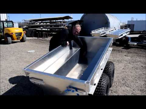 Marlon ATV All Aluminum Tub Trailers