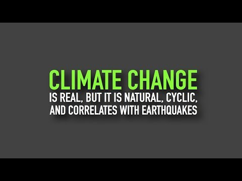 Climate Change Is Real, but It Is Natural and Cyclic