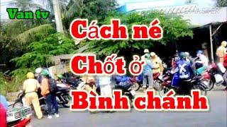 Đoạn đường Né chốt giao khong ở Bình Chánh. Van tv