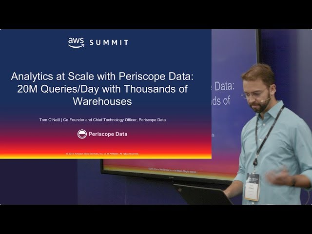 Analytics At Scale with Periscope Data: 20M Queries/Day With