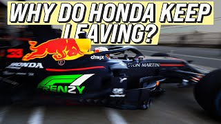Why do Honda keep leaving F1?