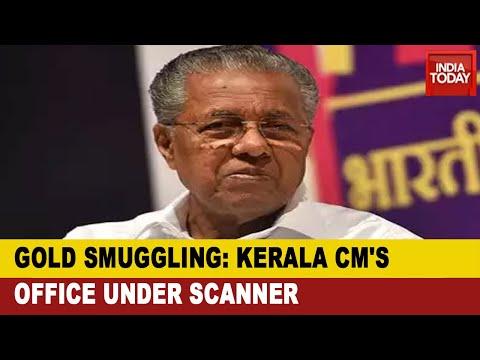 Opposition Targets CM Pinarayi Vijayan's Office In Kerala Gold Smuggling, Demands CBI probe