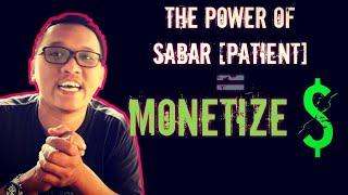 MONETIZE has been accepted! Habis BADAI muncul lah MONETISASI.. Thank you YOUTUBE!