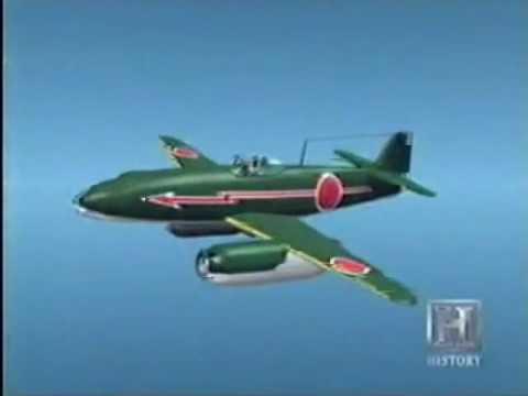 Secret of Imperial Japanese Future Jet Aircraft Projects   J9Y Kikka & J7W1 Shinden & J7W2 Jet