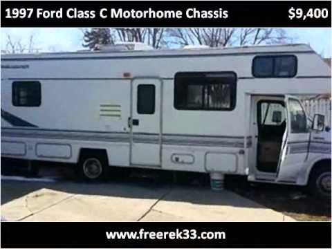 1997 Ford Class C Motorhome Chassis Used Cars Mesquite Tx