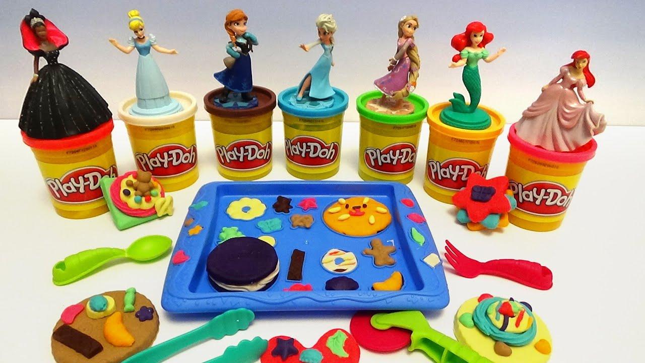 Play Doh-Les princesses de Disney
