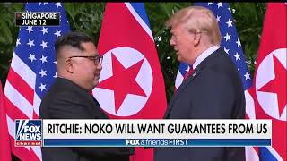 Donald trump's response to north Korea if ?