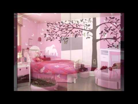 Bedrooms And Study Room For Teen Girls Youtube
