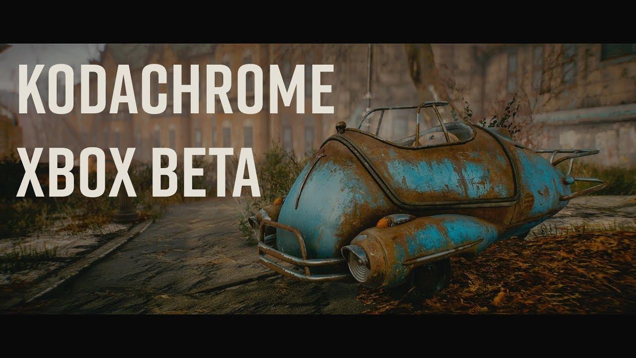 Kodachrome Xbox Beta Coming Today - Testers needed by TreyM