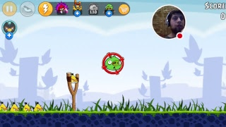 me playing Angry Birds 8 out of 12 videos 477 vlog