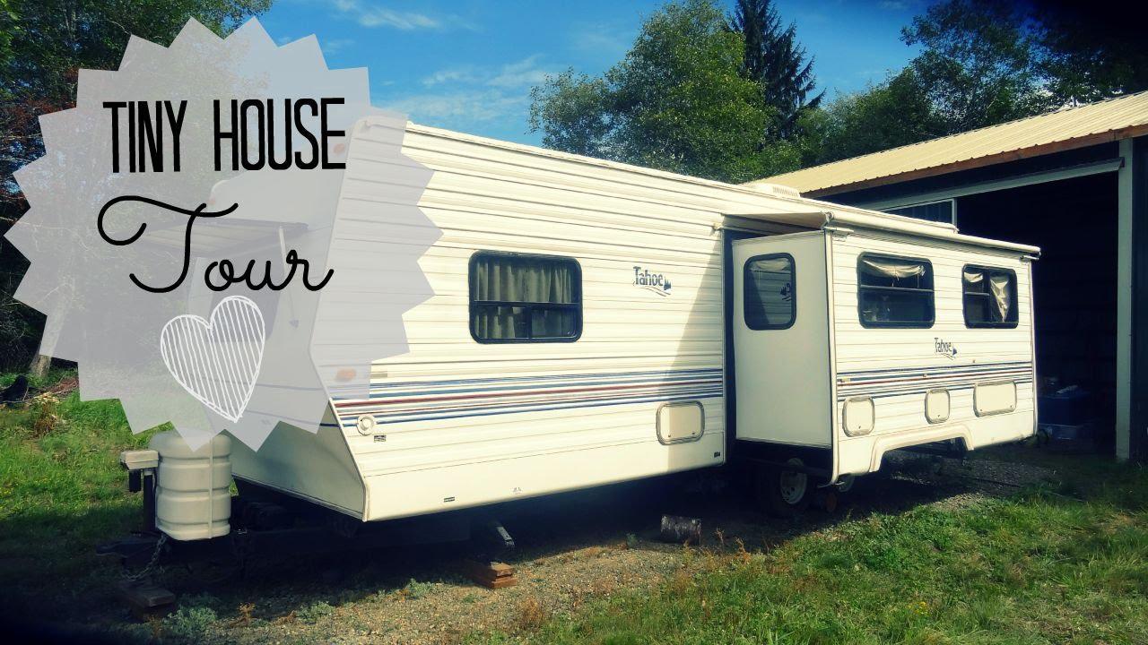 Tiny Home Designs: Trailer: Tiny House Tour