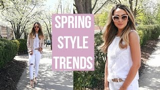 SPRING INSPIRATION! EASY HAIRSTYLE, FAVE LIP COMBO, SPRING OUTFIT IDEA