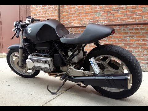 bmw k100 cafe racer youtube. Black Bedroom Furniture Sets. Home Design Ideas