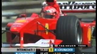 F1 Hungary 2000 Michael Schumacher Qualy Lap