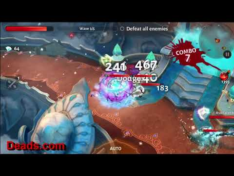 Dungeon Hunter 5 Waypoint 74 Reached, Auto Mode, No Pots Used. 1/30/2018. By Ettin Deads DH5 WP