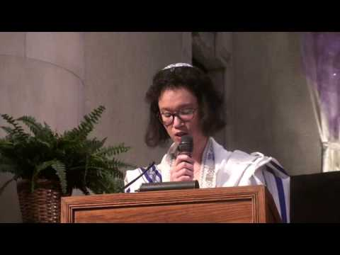Interfaith Peace service address with May Ye
