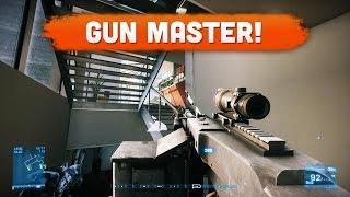 BF3 GUN MASTER! - Battlefield 3