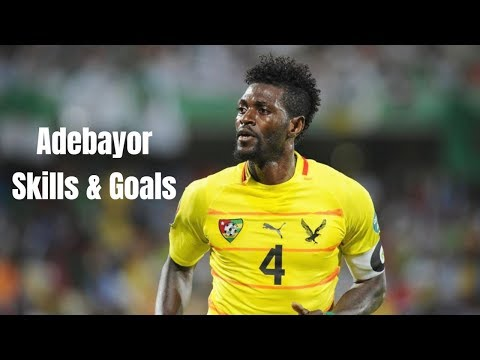 Emmanuel Adebayor Best Skills & Goals