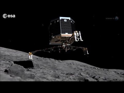 ScienceCasts: How to Land on a Comet